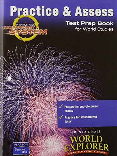 9780130685384: WORLD EXPLORER: PEOPLE, PLACES, CULTURES 1ST EDITION TEST PREPARATION BOOK 2003C