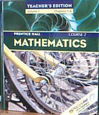 9780130685568: Mathematics Course 2 Teacher (Combo-ISBN: 0-13-068556-9)