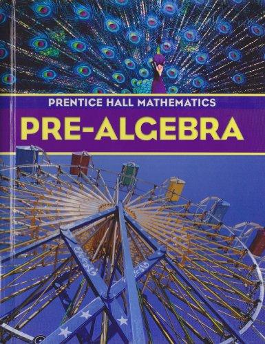 Pre-Algebra (0130686085) by Randall I. Charles; David M. Davison; Marsha S. Landau; Leah McCracken; Linda Thompson