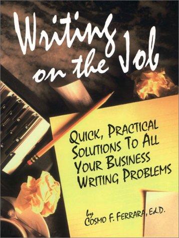9780130687357: Writing on the Job