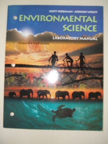 9780130699039: Teacher's Edition Laboratory Manual (Environmental Science)