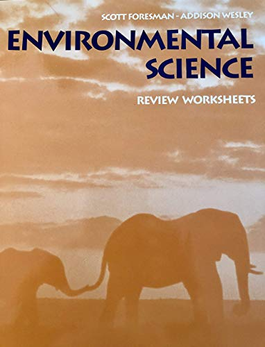 9780130699046: Scott Foresman-Addison Wesley Environmental Science: Review Worksheets With Answer Key