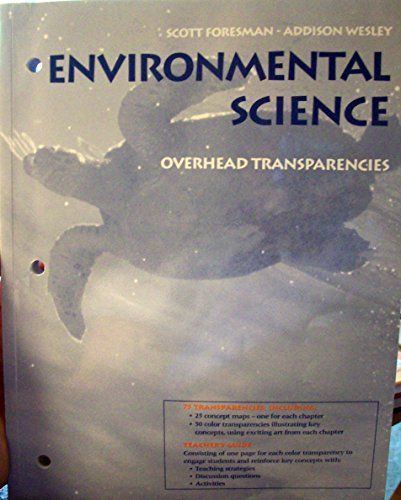 9780130699114: Scott Foresman-Addison Wesley Environmental Science: Overhead Transparencies