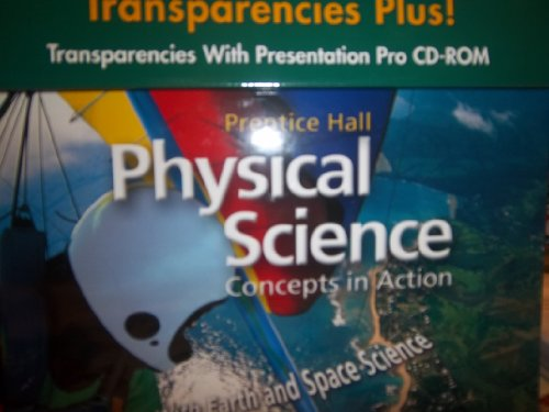 9780130699862: Prentice Hall Physical Science Concepts in Action Transparencies Plus with CD-ROM