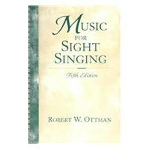 9780130705877: Music for Sight Singing