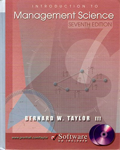 9780130717566: Introduction to Management Science and POM QM for Windows, Version 2 (7th Edition)