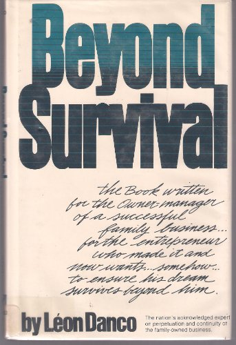 9780130720740: Beyond Survival: A Business Owners Guide for Success