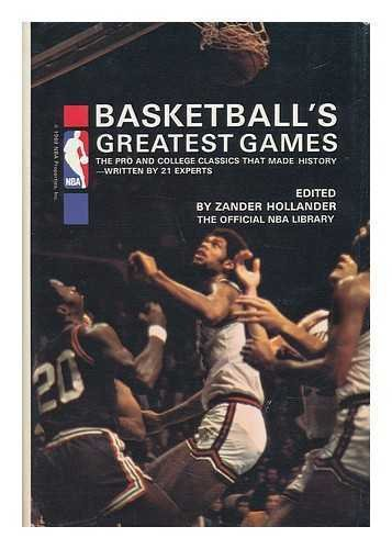 9780130723062: Basketball's greatest games (The Official NBA library)