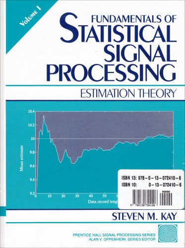 9780130724106: Fundamentals Of Statistical Signal Processing (2 Volumes)