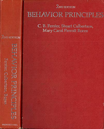 9780130726117: Behaviour Principles
