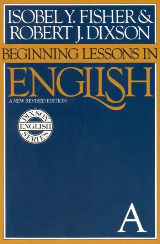 9780130727602: Beginning Lessons in English: A New Revised Edition