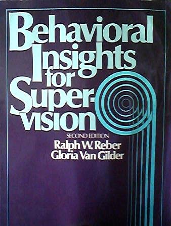 9780130731142: Behavioral Insights for Supervision