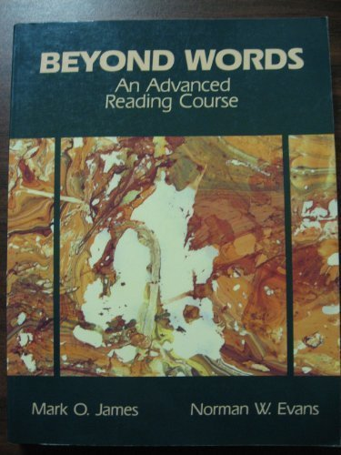 9780130740489: Beyond Words: An Advanced Reading Course
