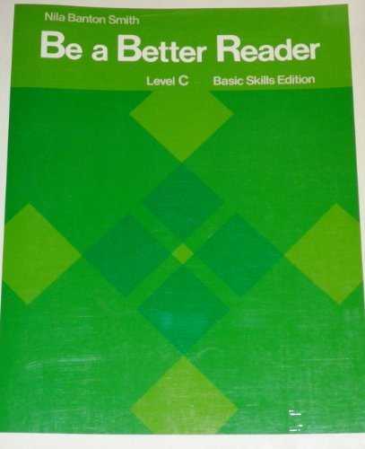 9780130741127: Be a Better Reader (Level C)