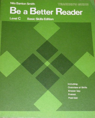 9780130741202: Be a Better Reader (Level C)