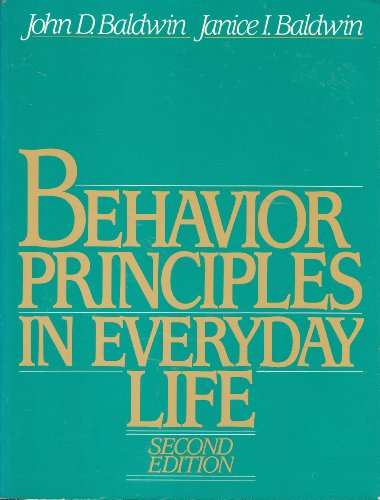9780130742384: Behavior Principles in Everyday Life