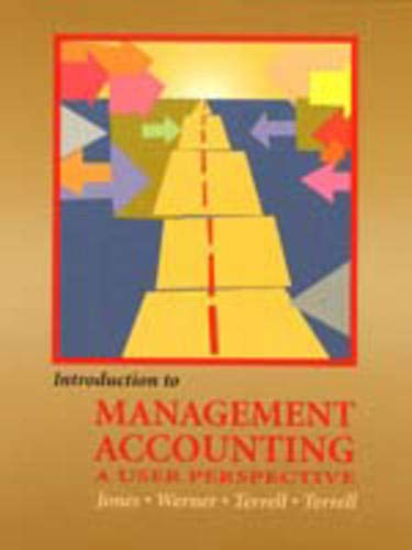 9780130744616: Introduction to Management Accounting & E Biz 2002 Pkg.