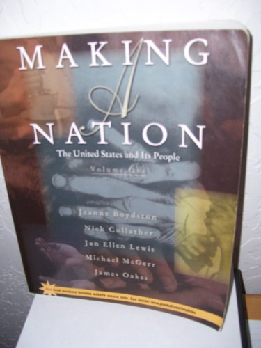 9780130745026: Making a Nation: Volume 2