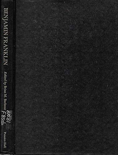 9780130748560: Benjamin Franklin: A Collection of Critical Essays (Twentieth Century Views)