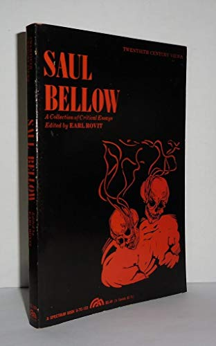 SAUL BELLOW,A COLLECTION OF CRITICAL ESSAYS: Bellow, Saul (Ed)