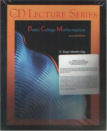 9780130752185: Basic College Mathematics (CD Lecture Series)