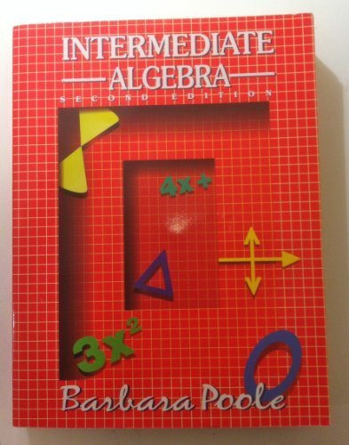9780130753267: Intermediate Algebra