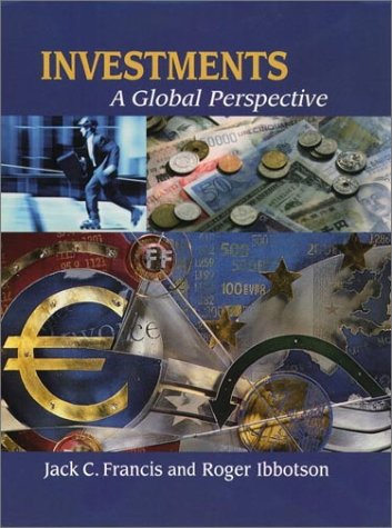 9780130758767: Investments: A Global Perspective PLUS Ibottson Associates Software Workbook and CD-ROM
