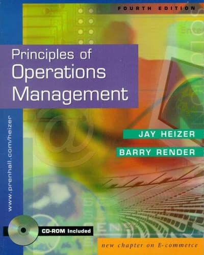9780130763334: Principles of Operations Management and Interactive CD Package (4th Edition)