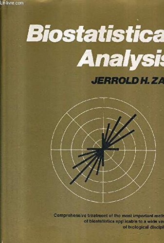 9780130769848: Biostatistical Analysis (Prentice-Hall biological sciences series)
