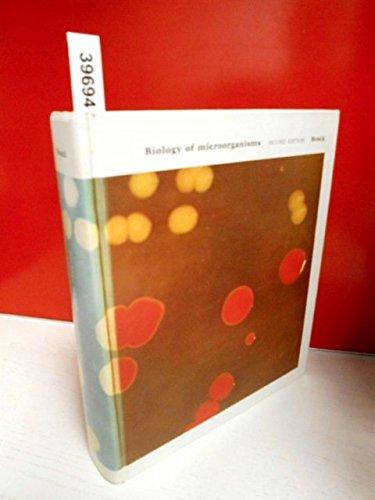 9780130769923: Biology of microorganisms (Biological science series)