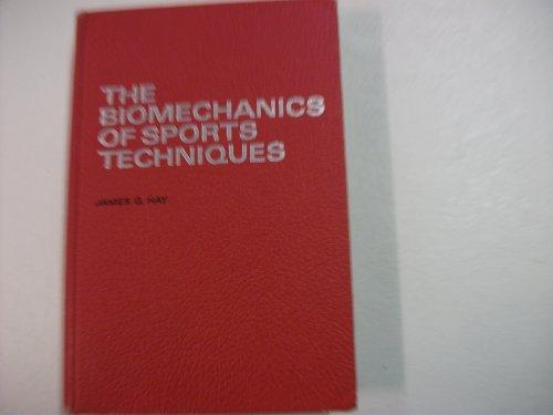 9780130771155: Biomechanics of Sport Techniques, The