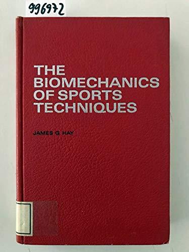 9780130771155: The biomechanics of sports techniques