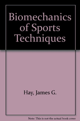 9780130778833: Biomechanics of Sports Techniques