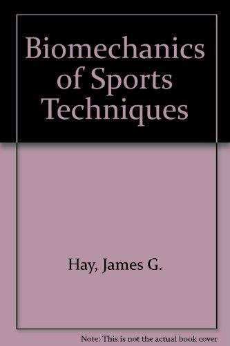 9780130778833: Biomechanics of Sports Techniques