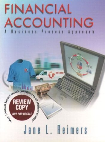 9780130779380: Financial Accounting: A Business Process Approach