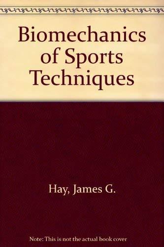 9780130783042: Biomechanics of Sports Techniques