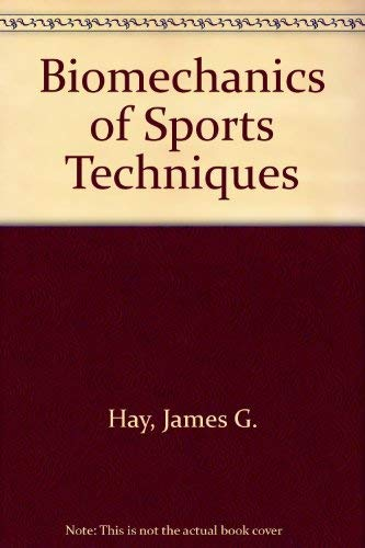 9780130783042: Biomechanics of Sports Techniques