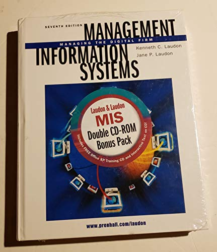 Management Information Systems (Book ) with CDROM (0130783927) by Laudon