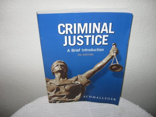 9780130786135: Criminal Justice Today and Study Guide Package (7th Edition)