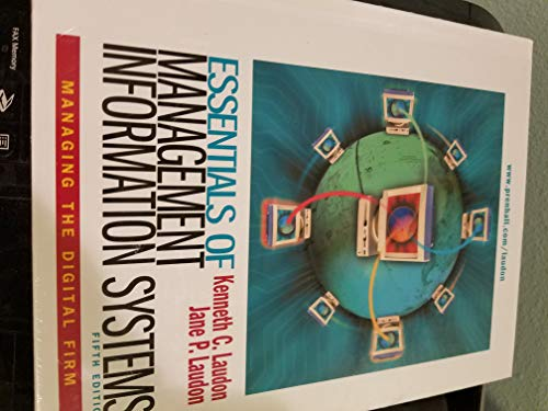 9780130788238: Essentials of Management Information Systems & IA CD Package (5th Edition)