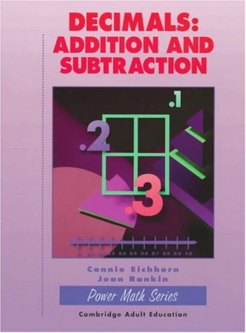9780130788740: Decimals: Addition and Subtraction (Power Math Series)