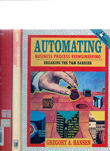 9780130791795: Automating Business Process Reengineering: Breaking the TQM Barrier