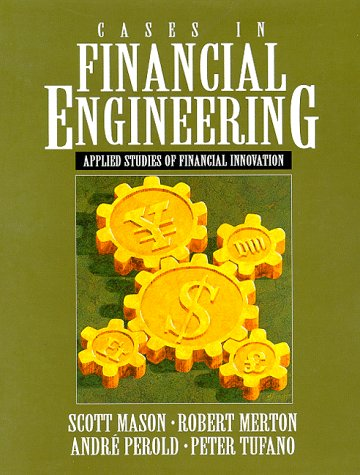 9780130794192: Cases in Financial Engineering: Applied Studies of Financial Innovation