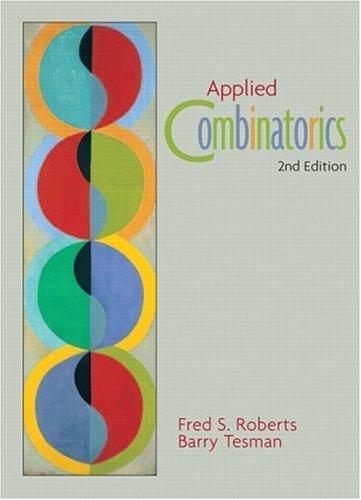 9780130796035: Applied Combinatorics