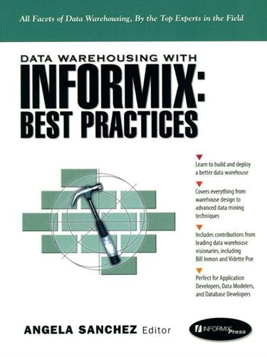 9780130796226: Data Warehousing with Informix: Best Practices