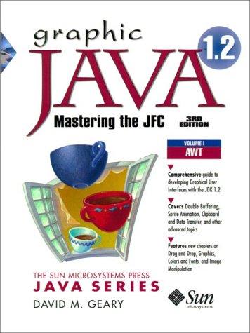 9780130796660: Graphic Java 1.2, Volume 1: AWT, Third Edition