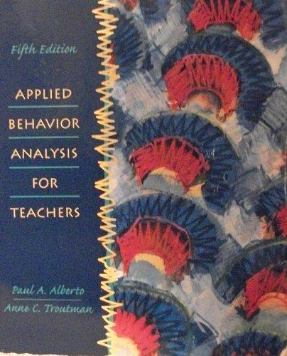9780130797605: Applied Behavior Analysis for Teachers (5th Edition)