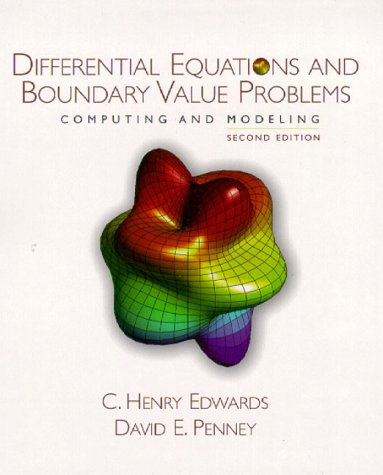 9780130797704: Differential Equations and Boundary Value Problems: Computing and Modeling (2nd Edition)