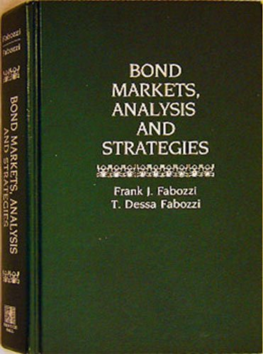 9780130799227: Bond Markets: Analysis and Strategies
