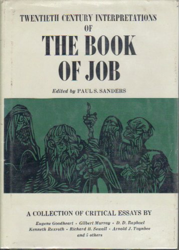 9780130799623: The Book of Job: A Collection of Critical Essays (Twentieth Century Interpretations)